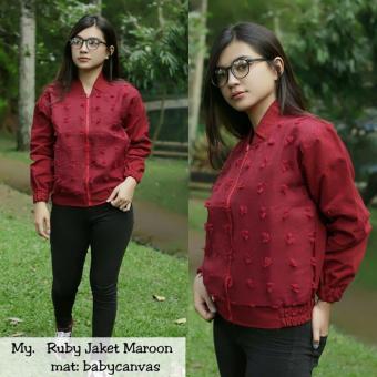 Harga preferensial Ruby Jaket Maroon terbaik murah - Hanya Rp45.900 4cb474f4b6
