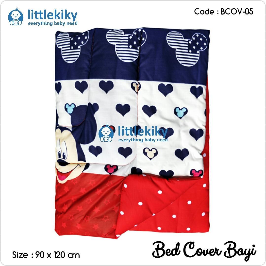 LITTLEKIKY Bedcover Bayi / Selimut Bayi / Baby Bedsheet / Bantal Bayi / Bed Cover ( SL-5 )