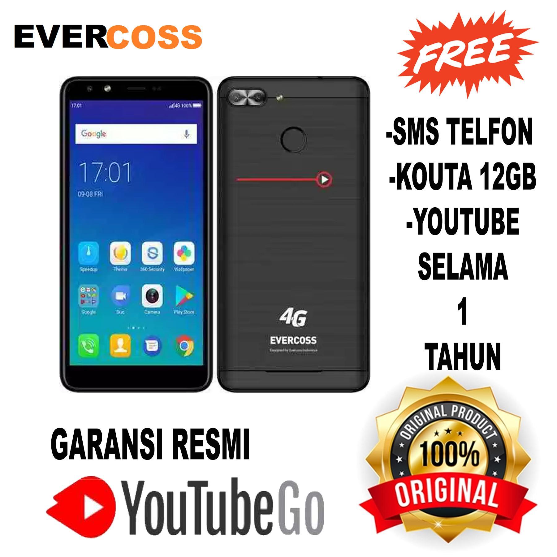 Evercoss Xtream 1 Plus - Full Screen - RAM 1GB/8GB - Garansi Resmi