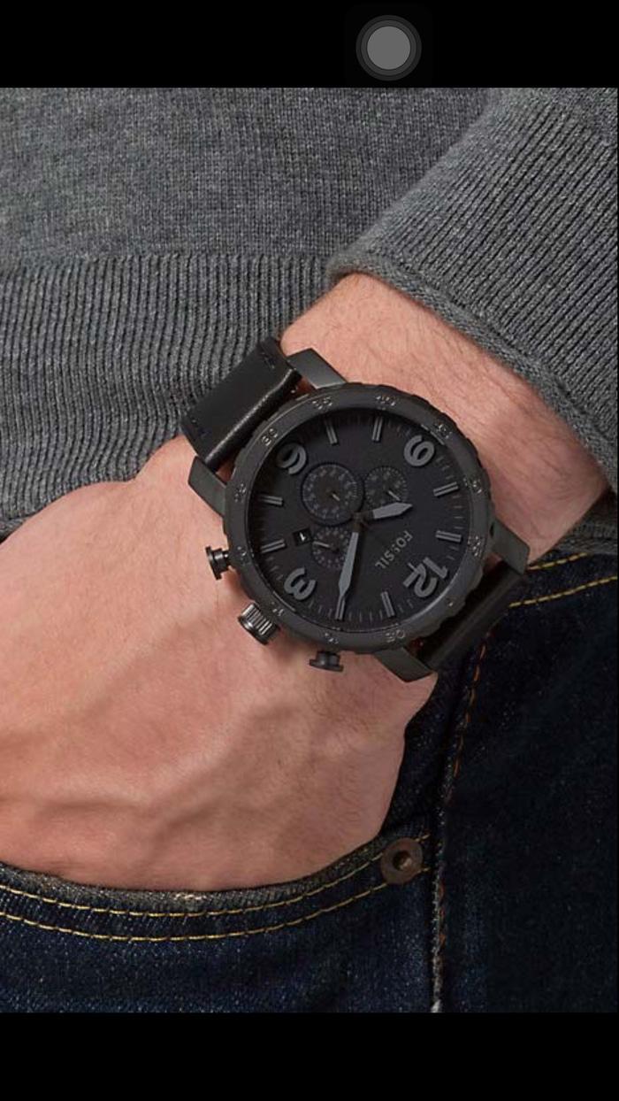 Fossil Jr 1424 Jam Tangan Pria Abu Leather Daftar Harga Nate Chronography Brown Strap Merk 1354 Jr1354 Original 4