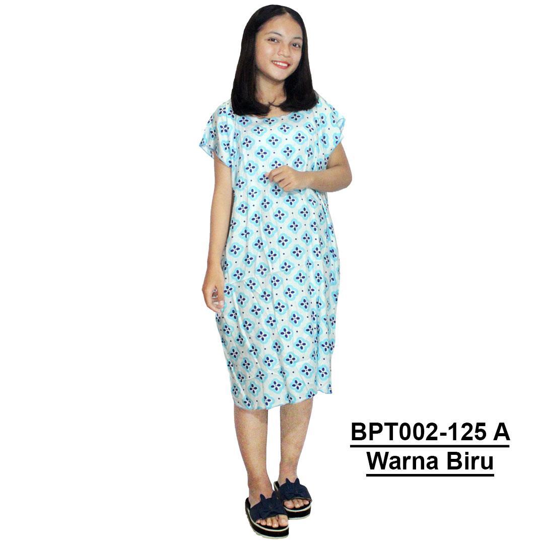 Midi, Daster Midi, Dress Santai, Baju Tidur, Piyama, Atasan Batik (BPT002-125) Batikalhadi Online
