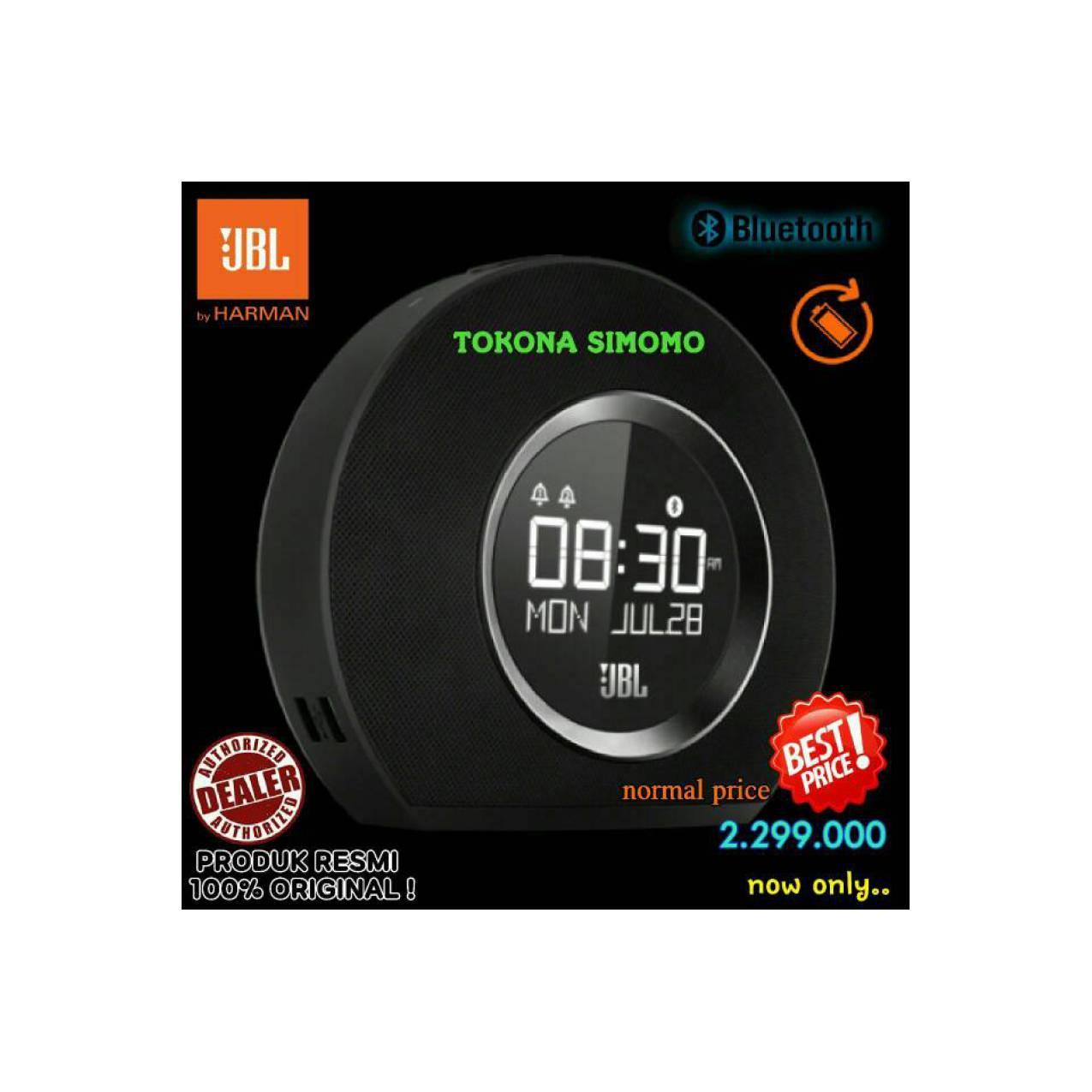 JBL Horizon - Speaker Bluetooth Clock Radio With USB Charging (Black)