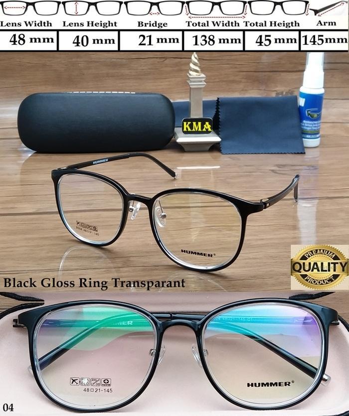 Frame Kacamata Minus HUMMER Kacamata Frame Minus HUMMER Elastis Bulat