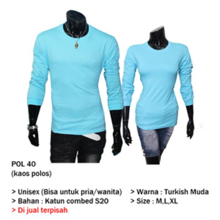 Toko Online Jual Kaos Polos  POL 40