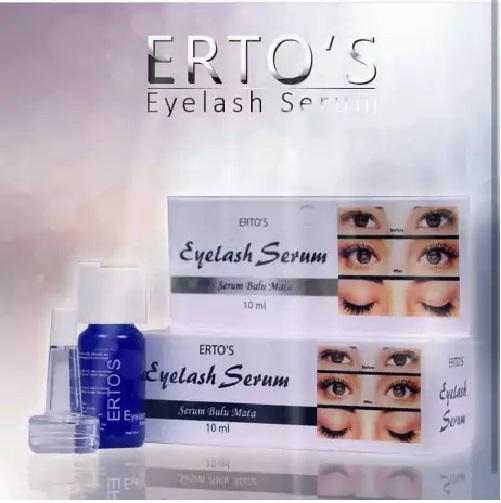 Ertos Erto's Eyelash Serum Pelentik Bulu Mata Dan Alis Original