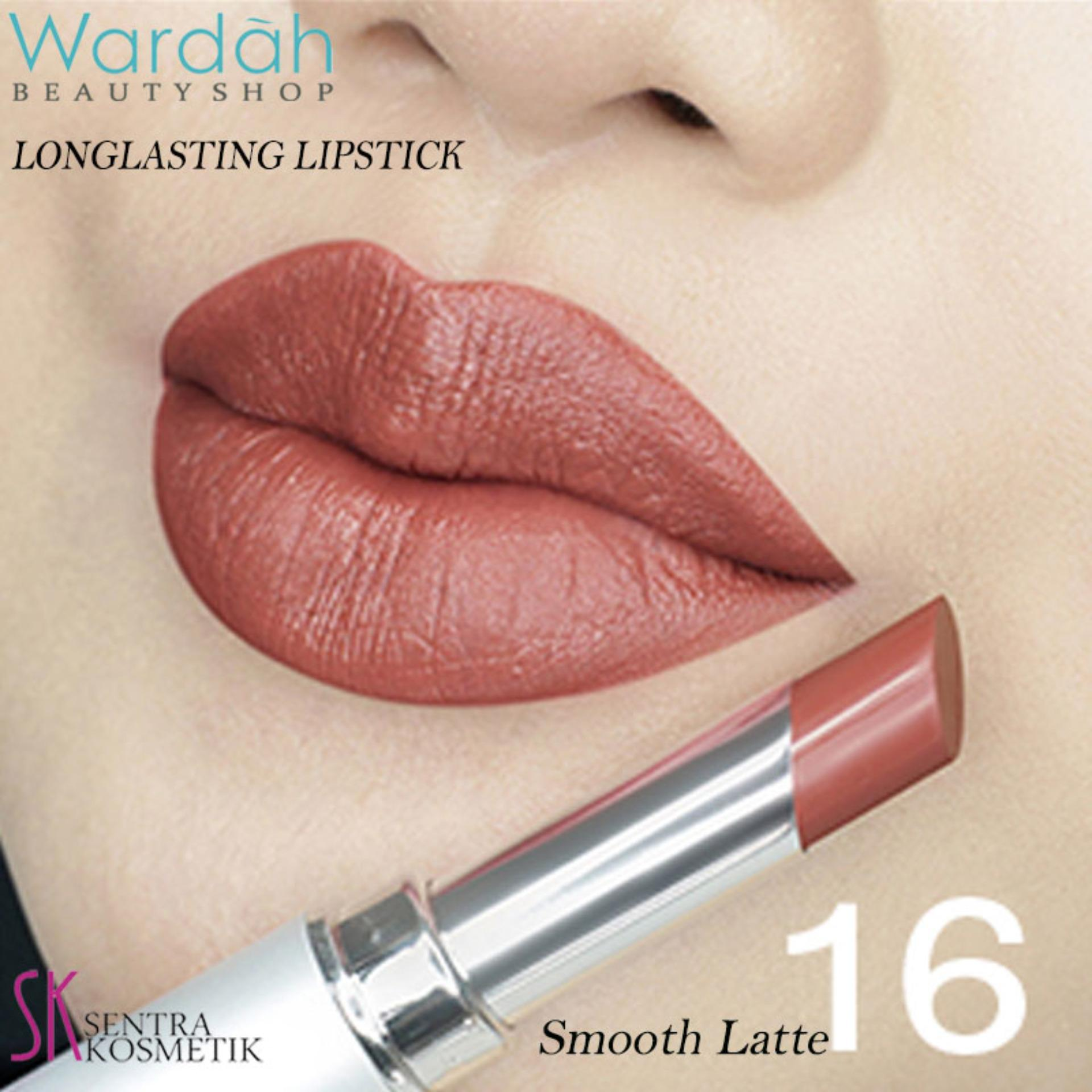 Hemat Wardah Matte Lipstik No 13 Cocoa Look Facial