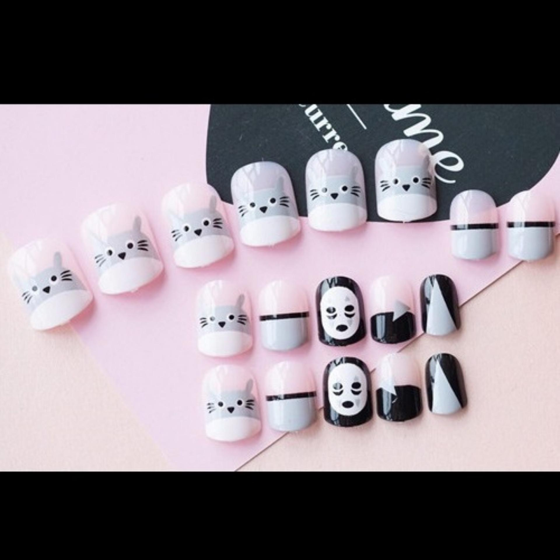 Kelebihan Kuku Palsu Jbs Nails Fake Wedding Nail Art 3d A10 Terkini A18 3