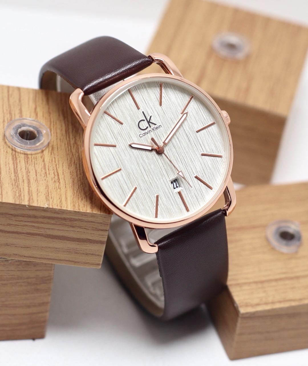 Calvin klein jam tangan wanita tanggal aktif dapat box