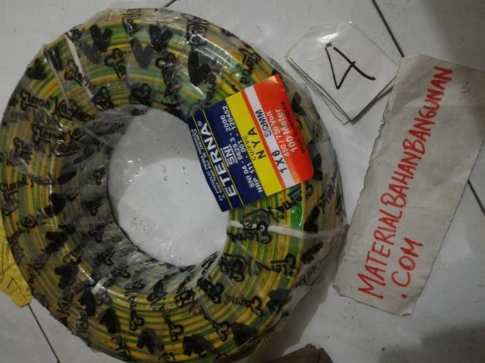 Kabel NYA Eterna 1 X 6 Jual Per 1 Meter Kabel Listrik NYA
