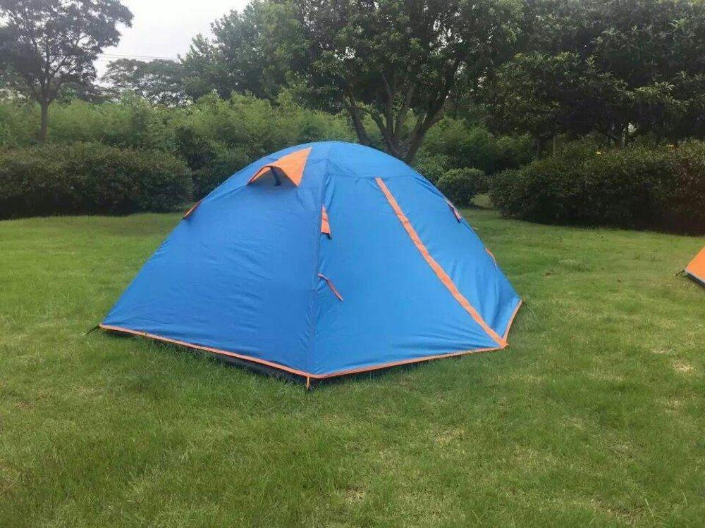 Tenda dome compass kapasitas 2-3 orang - dubble layer - tenda ultralight - tenda