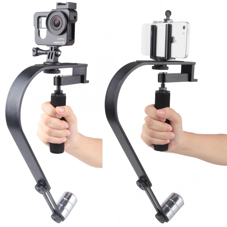 Vodool Handheld Curve Stabilizer Multifungsi for GoPro / DSLR / iPhone / Stabilizer Kamera