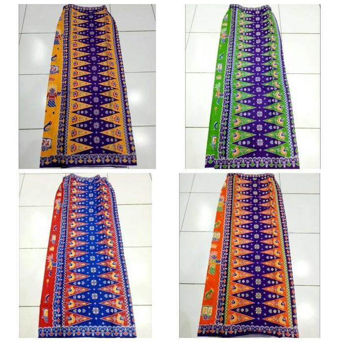 rok batik pucuk rebung betawi ondel ondel