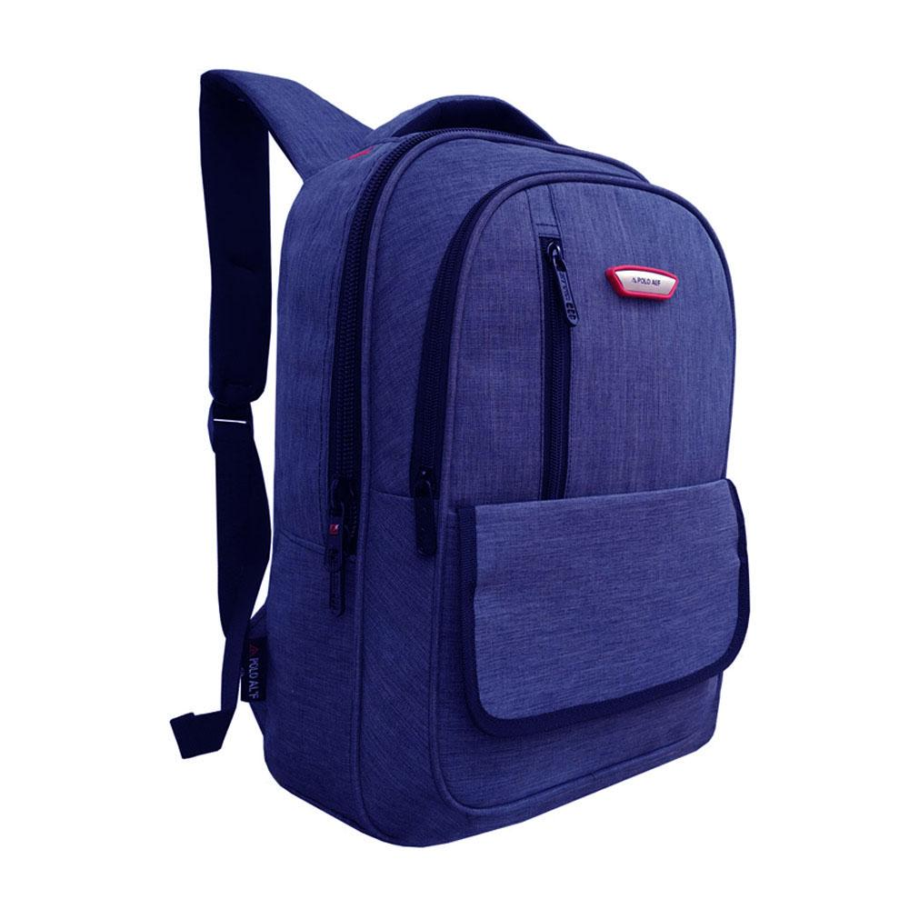 Tas Ransel Laptop - Tas Ransel Pria - Tas Ransel Wanita - Tas Laptop Polo ALF - Backpack Up to 15 i