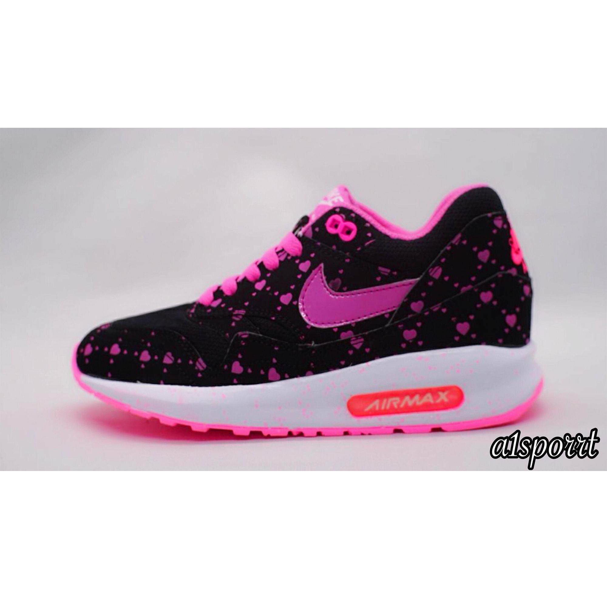 Nike Airmax Kualitas Premium Hitam Pink Love Lunar