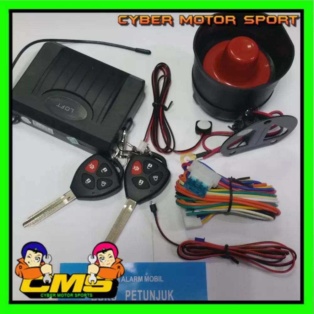Alarm Mobil Model Remot Kunci Innova
