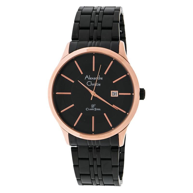 Alexandre Christie AC 8348 Jam Tangan Pria Stainless Steel Bracelet