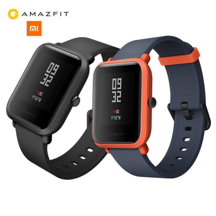 Xiaomi Huami AMAZFIT Bip SmartWatch International English Version - Hitam