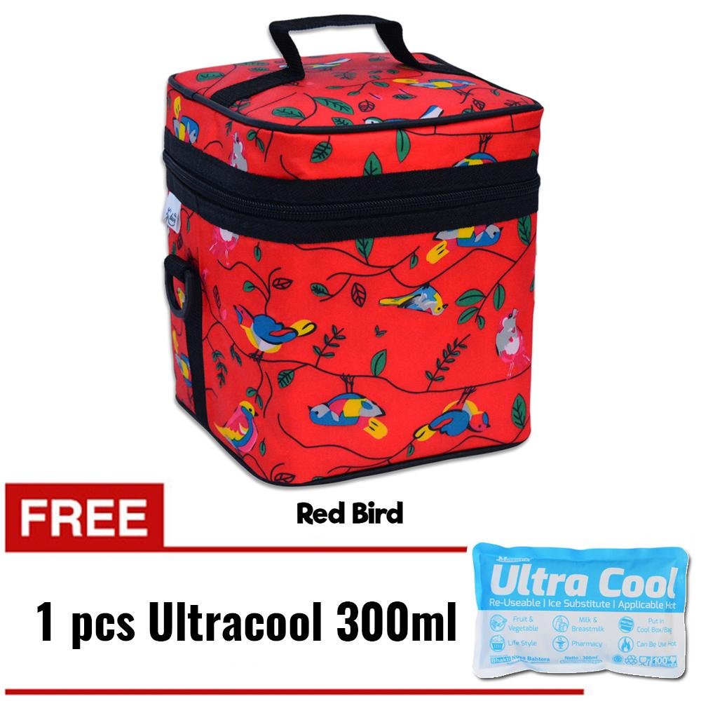 Z-Two Cooler Bag ASI / Tas ASI / Coolerbag / Penyimpan ASI + Gratis Ice Gel