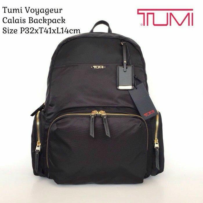 Tumi Calais Backpack Black