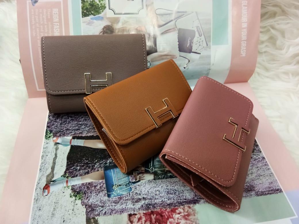 Dompet Mini Hermes Fashion Dompet Wanita Dompet Import Dompet Cewek Clutches Branded Kualitas Premium