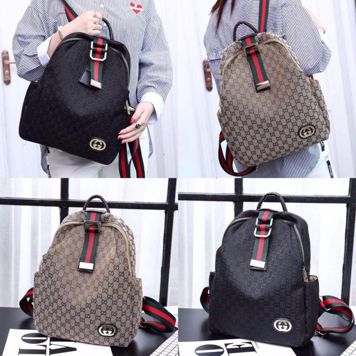 Tas Ransel Wanita/ Woman Backpack - GUCCI Dimanne #F2216 - TWdMRT