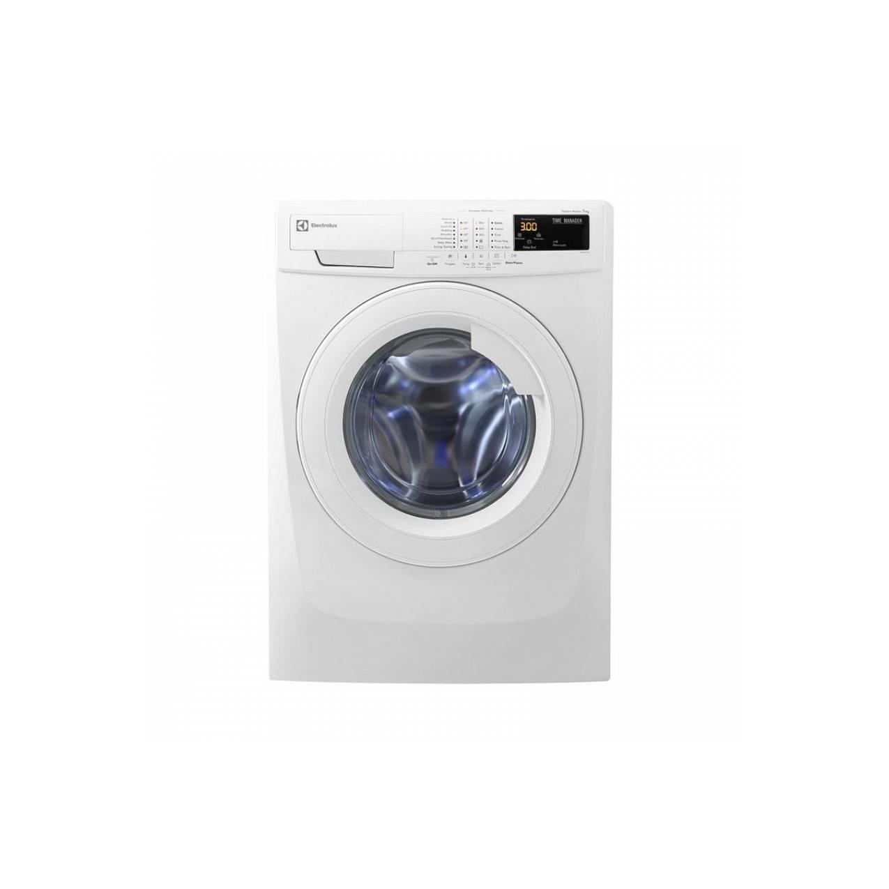 Electrolux EWF 10847 Mesin Cuci - Putih [Front Loading/8 Kg]