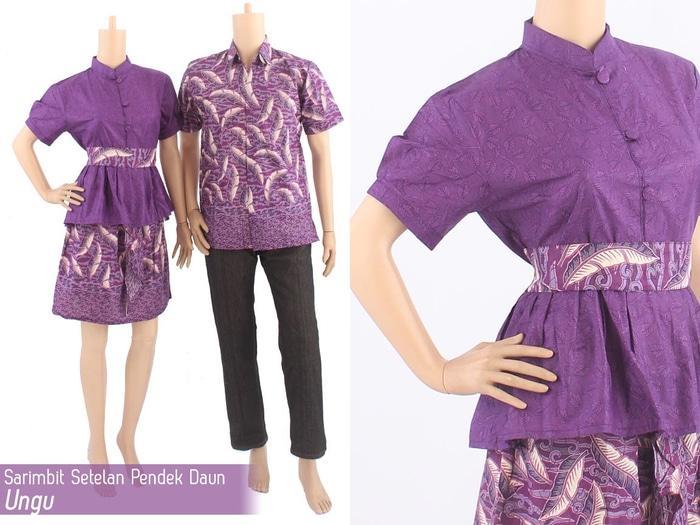 ... Baju Pasangan / Sepasang Busana / Kemeja Pria Setelan Kebaya Modern Stelan Wanita / TzcpyantiIDR148000. Rp 165.800. TERKECE Sarimbit Couple Batik ...