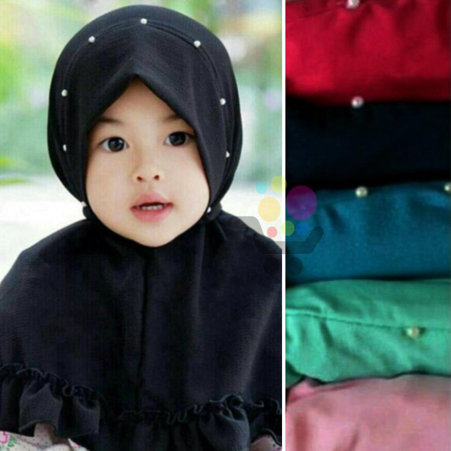 Fitur 3 Pcs Hijab Anak Bayi Beda Model Jilbab Anak Bayi Murah Dan