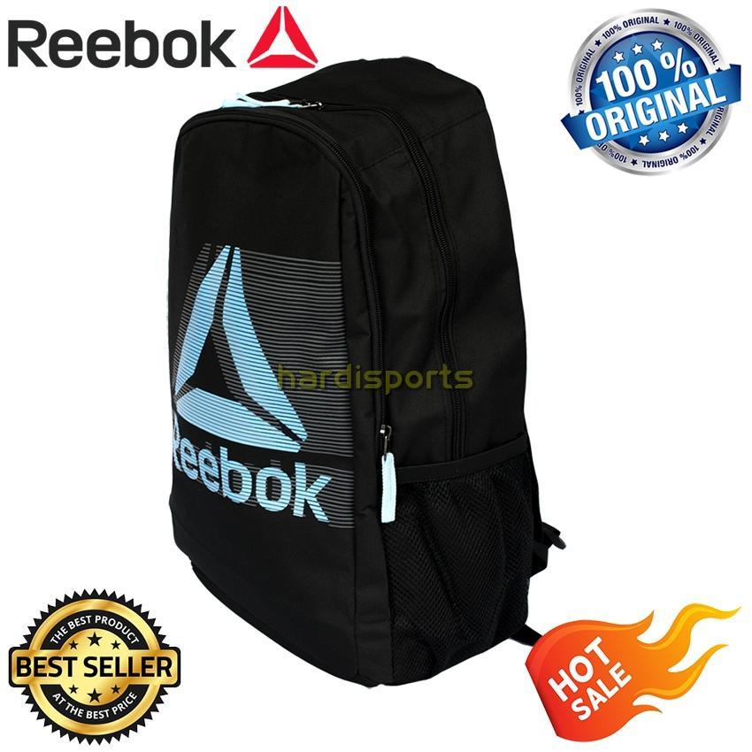 Tas Punggung / Backpack Reebok Delta Shade BP718A - Black Blue