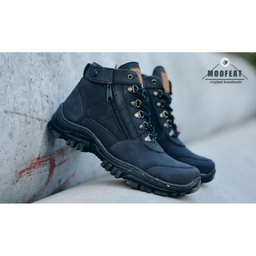 Sepatu boots original moofeat pria kickers caterpillar semi kampus morisey