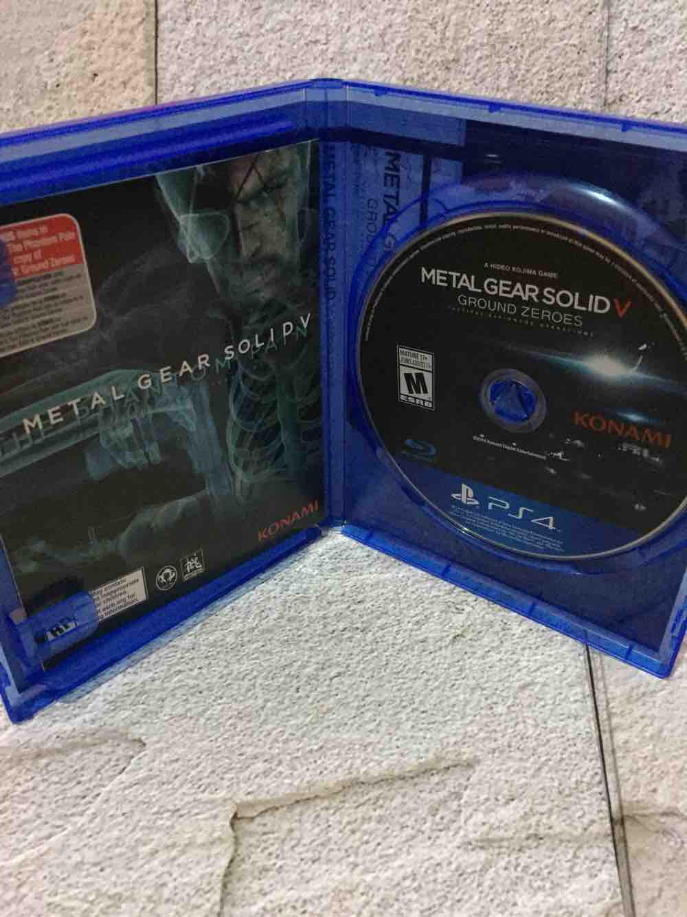 Fitur Metal Gear Solid V 5 Ground Zeroes Video Game Kaset Ps4 Konami Bd Battlefield 1 Reg 3 Detail Gambar Murah Terbaru