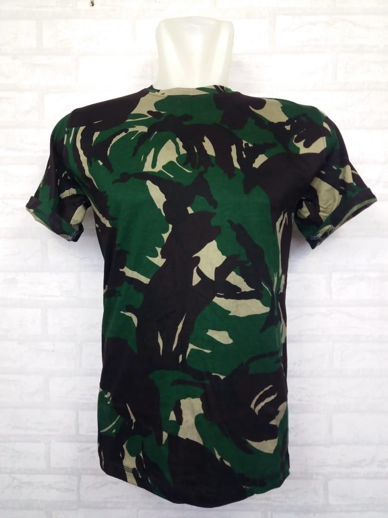 S'cokey T-Shirt Army T-Shirt Pria Wanita Kaos Polo Pakaian Pria Fashion Pria Kaos Kerah Baju Berkerah Kaos Cowo Atasan Kasual Kaos Distro Sport Topi Jaket Celana Sepatu Tni Bomber Pilot Loreng Armi Abri Motif Tentara