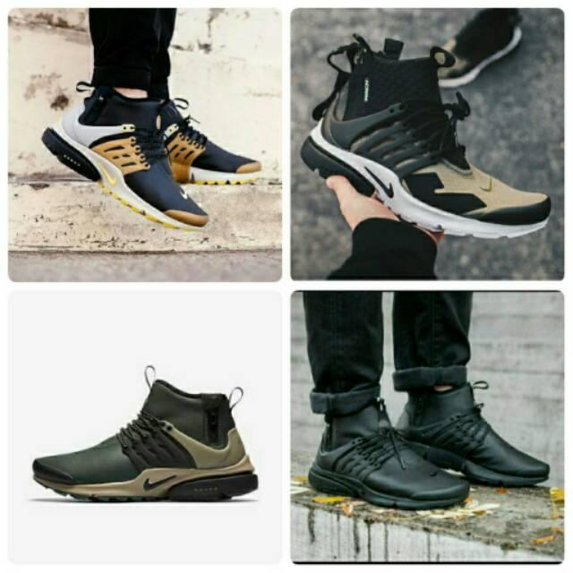 Sepatu Premium Nike Presto ACRNM Sneakers Original Ori Casual Sport Keren Gaya Cowok Running Murah