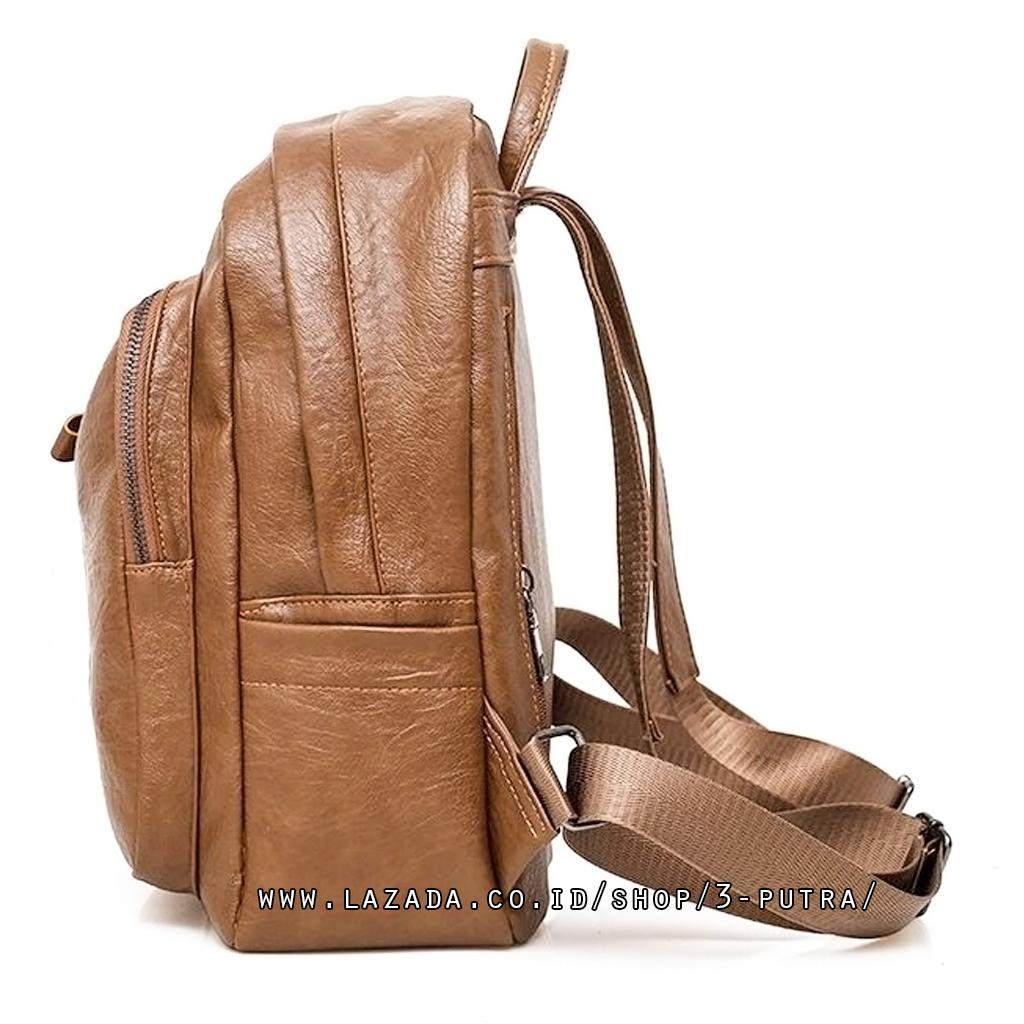 Fitur Tas Ransel Backpack Wanita Lipat Travel Santai Travelling Kerja Kuliah