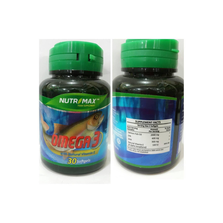 Nutrimax Kidz Omega 3 Vitamin Otak Anak Dha Autisme Isi 60 Softgel Treelains Fish Oil 1000mg Shopee Indonesia