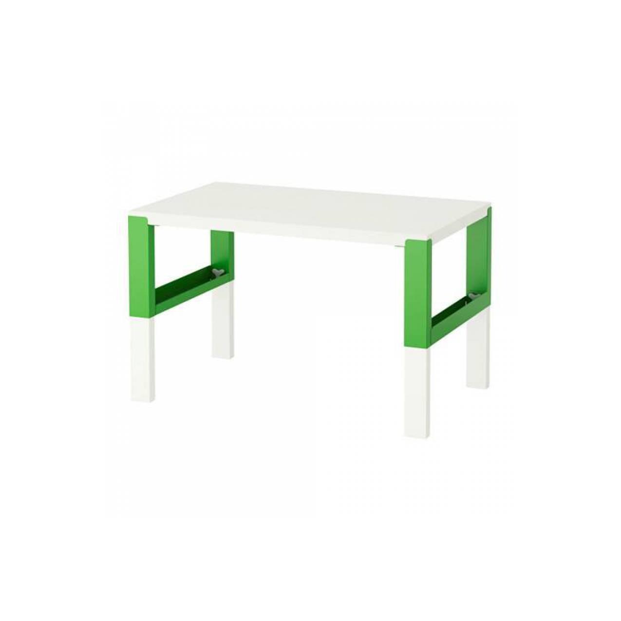 IKEA PAHL Meja Belajar Anak 96x58 cm - Hijau, putih
