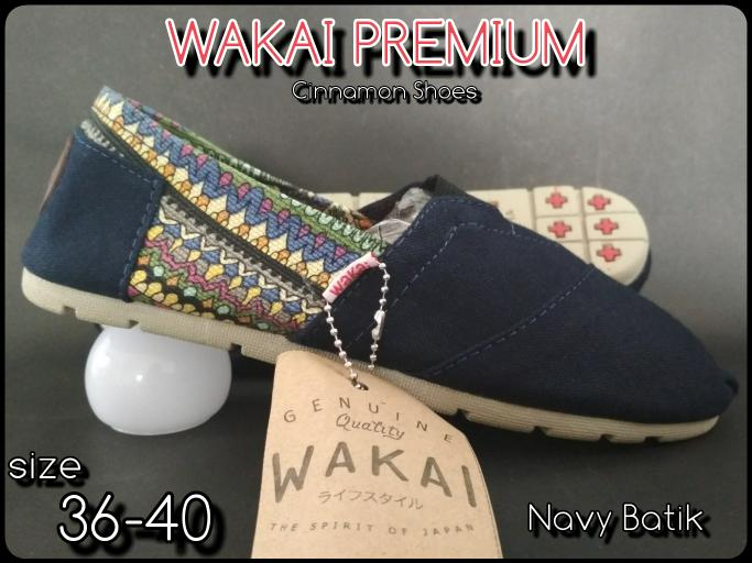 Sepatu Wakai Pria Wanita Grad Original  + Hadiah Lebaran Promo Terlaris
