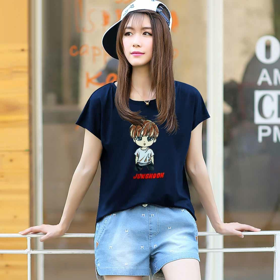 Vanessa Tumblr Tee / T-Shirt BTS JUNGKOOK / T-shirt Wanita / Kaos Cewek / Tumblr Tee Cewek / Kaos Wanita Murah / Baju Wanita Murah / Kaos Lengan Pendek / Kaos Oblong / Kaos Tulisan
