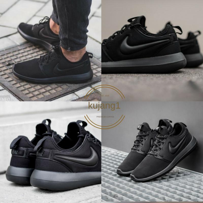 733bea7685c ... reduced sepatu nike rose run 2 sneakers casual 2018 full hitam f3077  8c353 ...