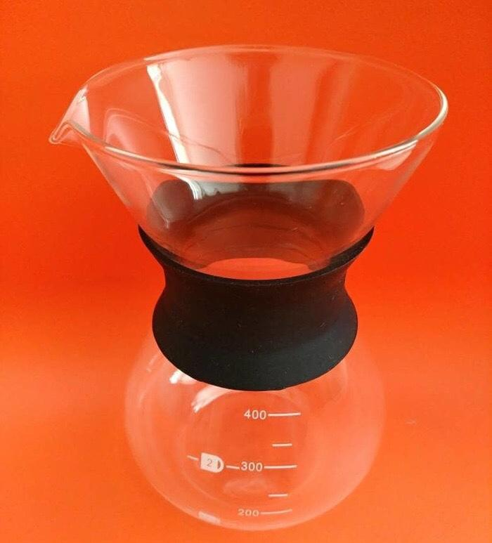 Drip Decanter Pour Over Coffee Maker - 3 .