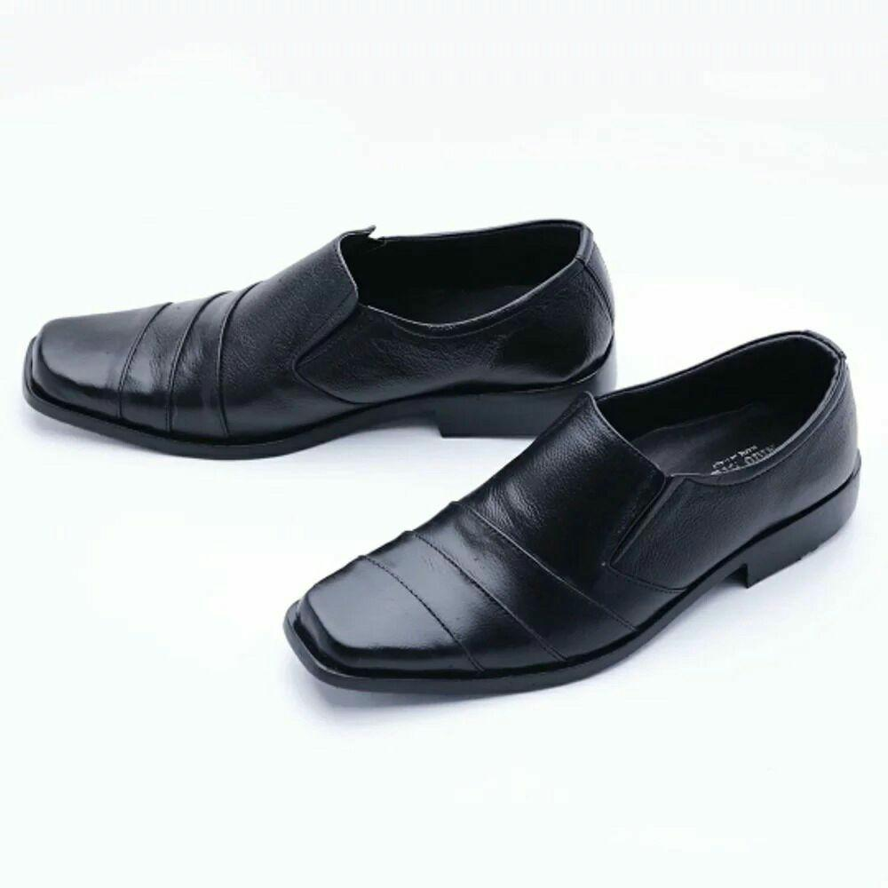 Sepatu Kulit Pantofel Pria Aldo
