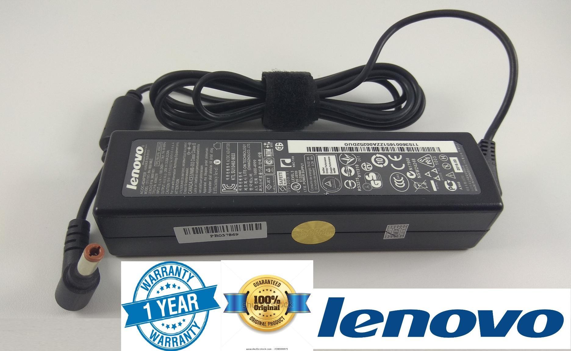 Lenovo Adaptor Charger Original G480 B470 G460 G470 Z570 20v 3.25a (5.5*2.5) ORI