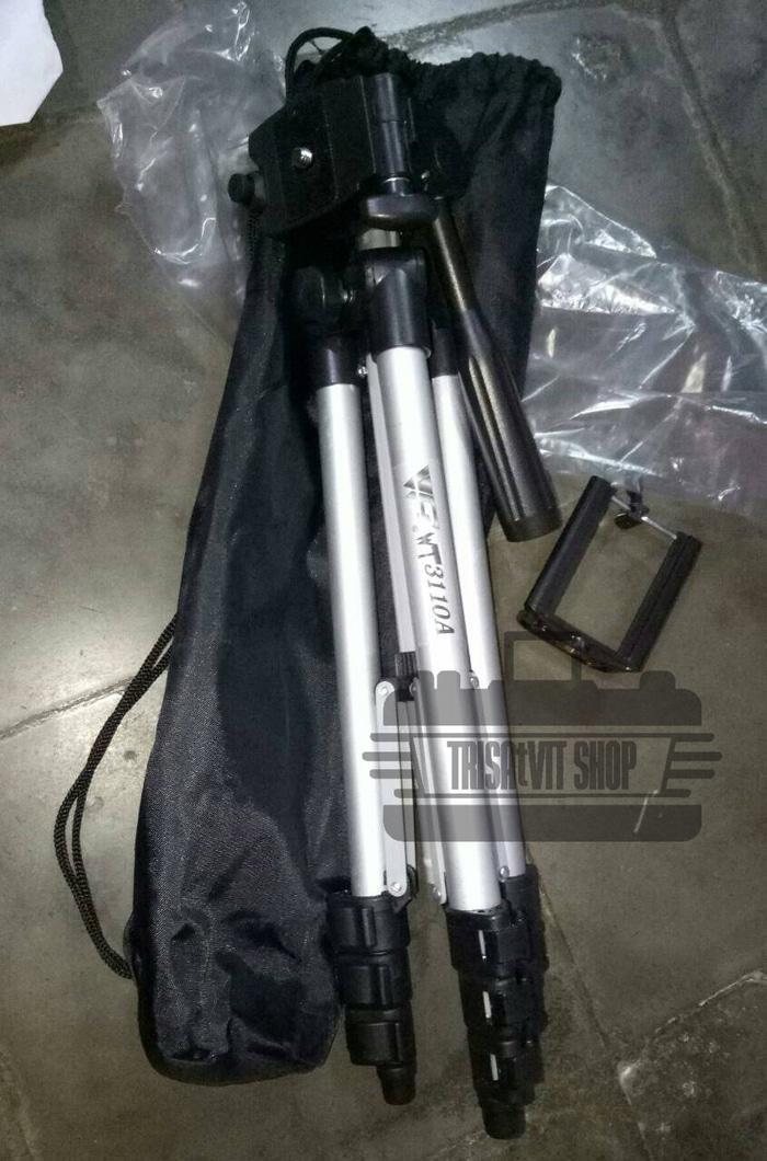 Tripod Weifeng WT3110A buat Camdig, Handycam, DSLR dan Hp + Holder U