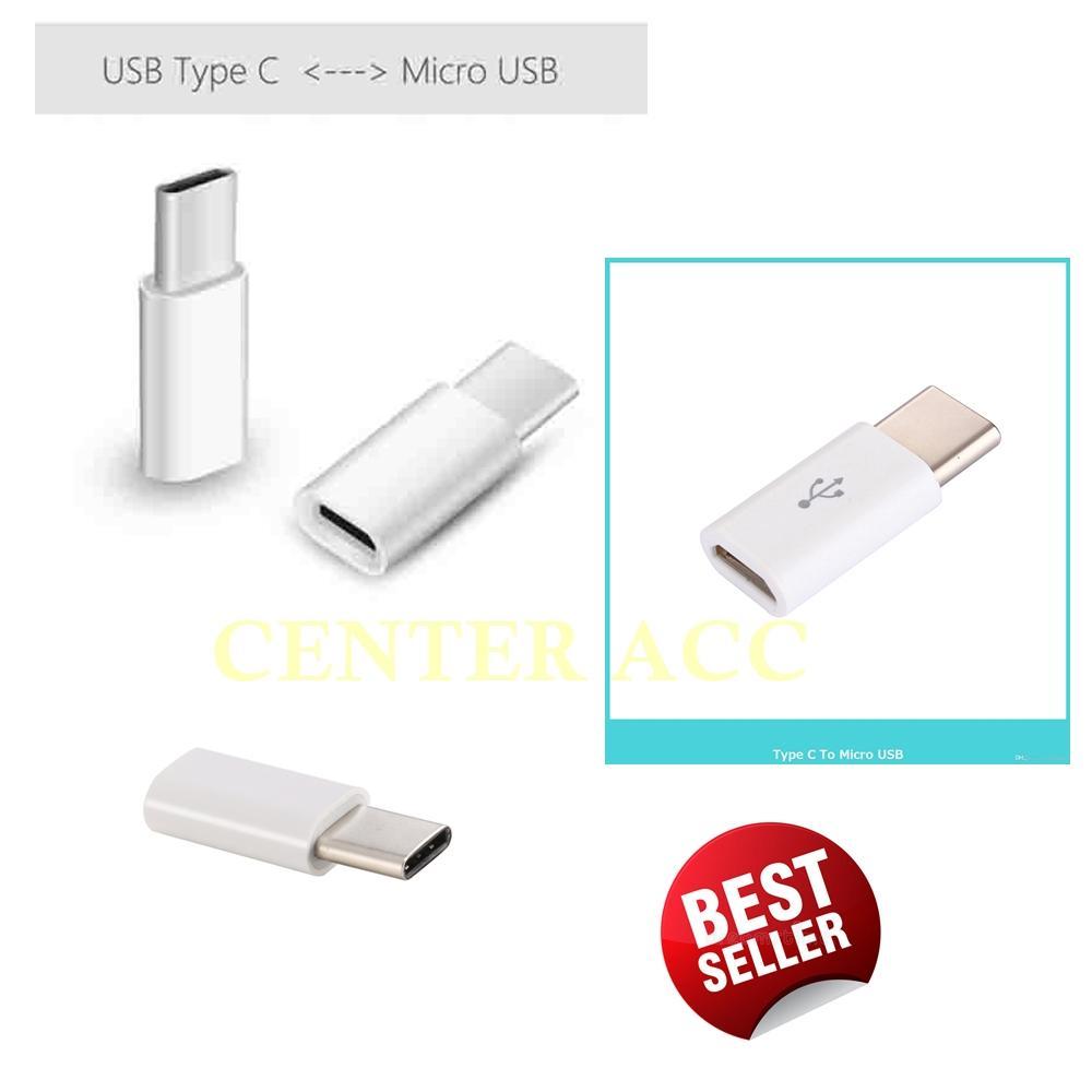 Rp 19.900. Conector Original Converter Micro USB Ke USB C ...