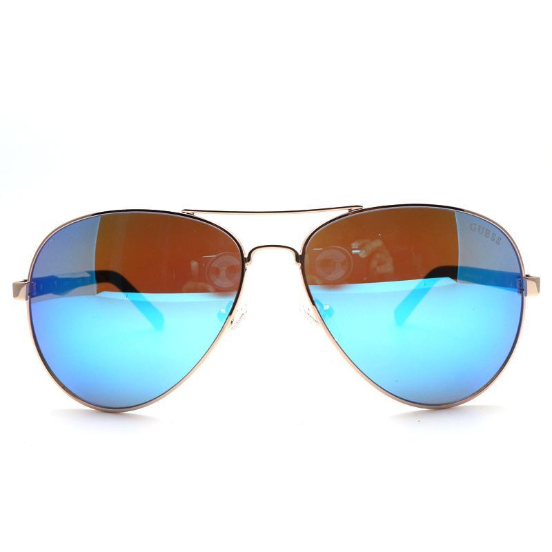 Guess Optical Sunglass Wanita GU 6834 C28X - Rosegold-Hitam