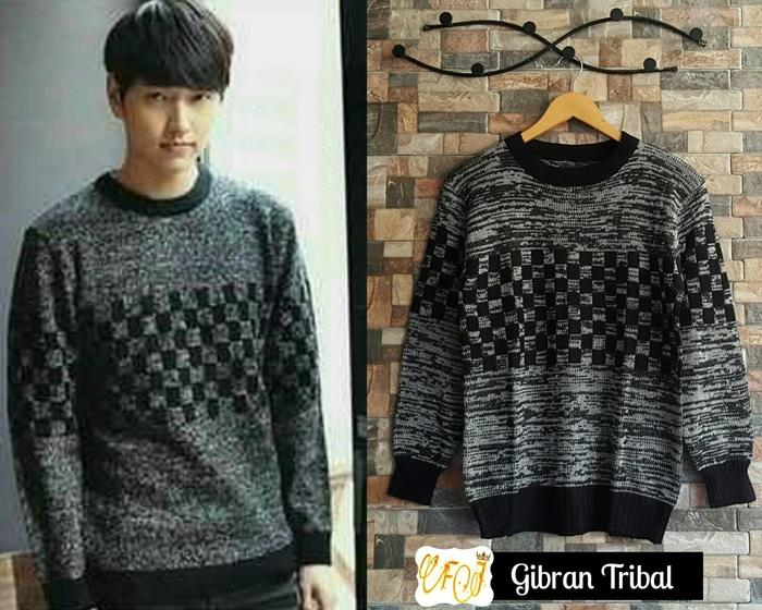 Sweater Pria Rajut - Gibran Tribal - Rajut Sweater