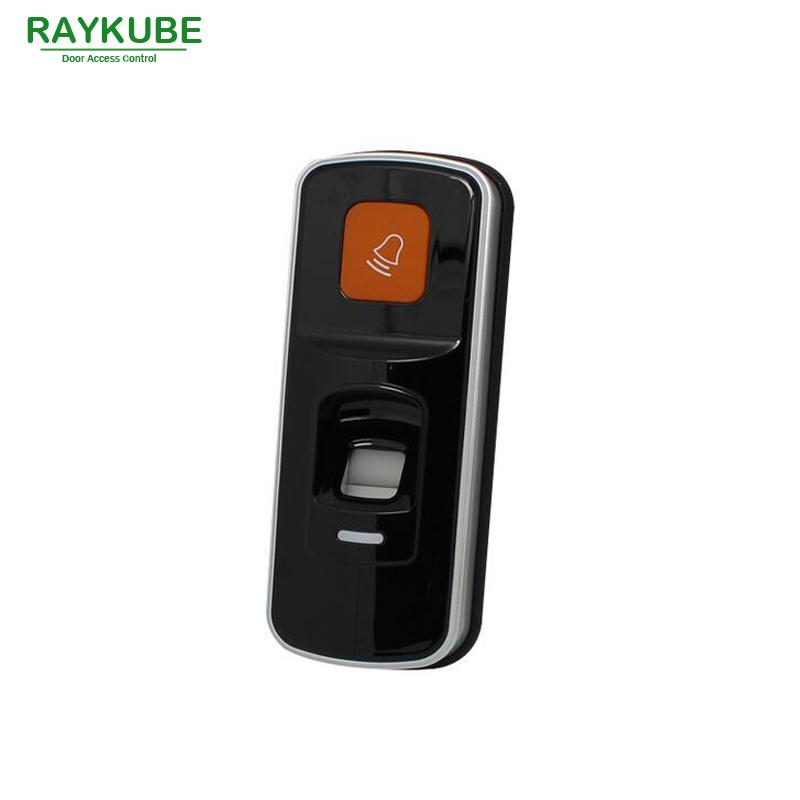 RAYKUBE 2 In 1 Biometric Fingerprint & RFID Reader For Access Control System R-FX8
