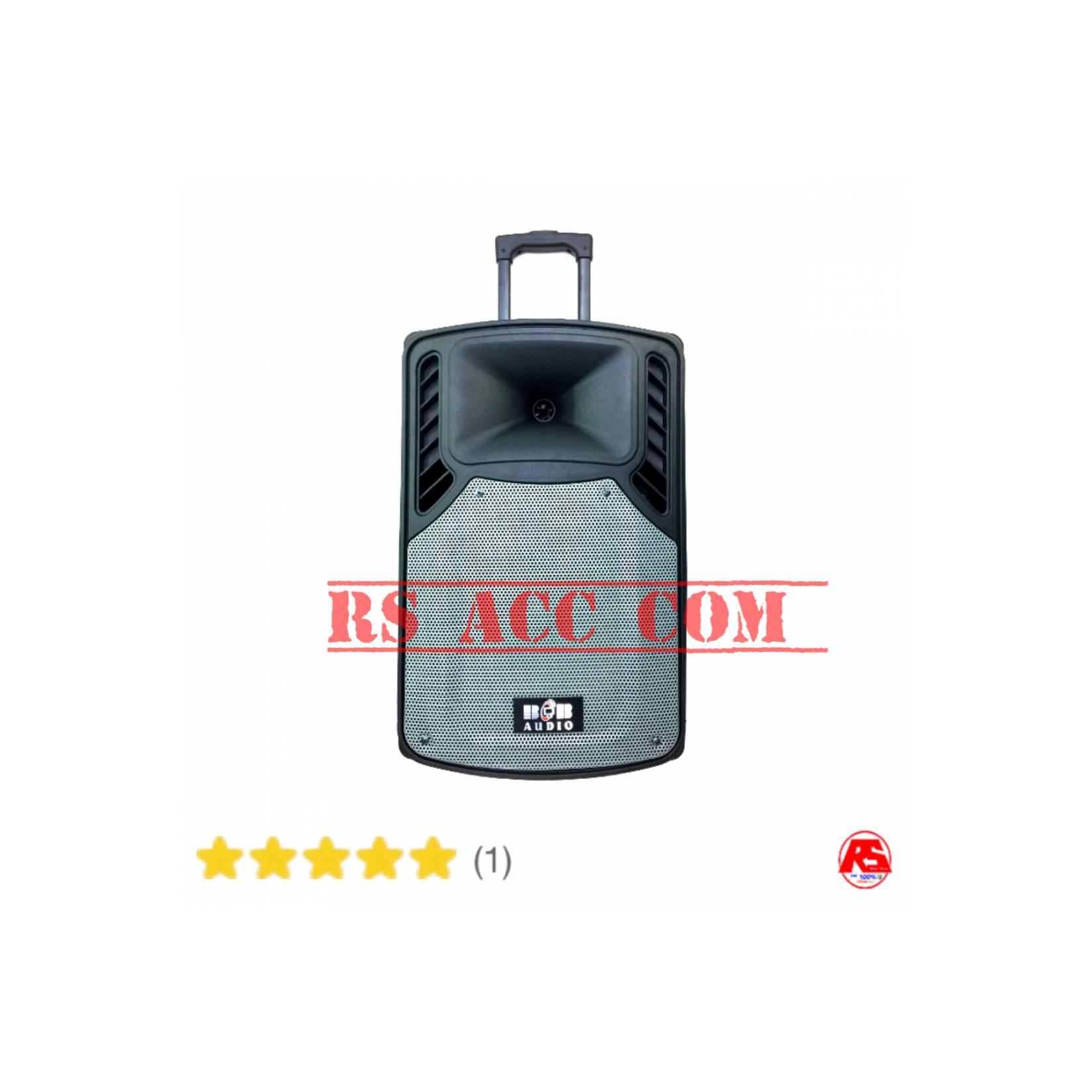 Speaker Portable Pa Addons Bob Audio 12 Inch 3 Mic Wireless Digital