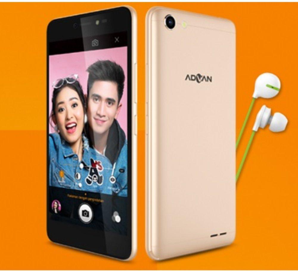 Advan Vandroid I5C Plus 4G LTE - 2GB/16GB - Gold