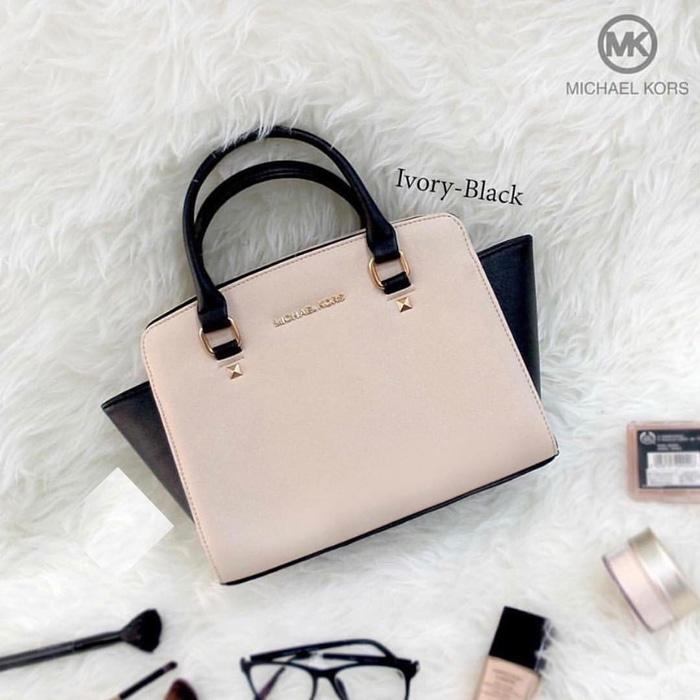 Tas wanita cewek branded handbags pesta murah Michael Kors MK Selma PRODUK BEST SELLER - PRODUK BEST QUALITY - PRODUK TERLARIS - TAS KECE - FASHION WANITA